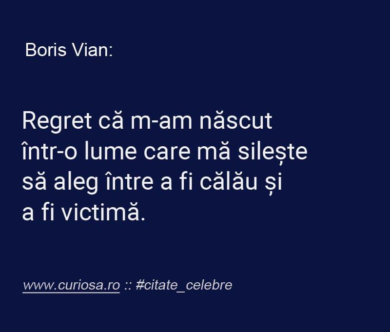 citate celebre Boris Vian