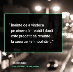 citate hipocrate